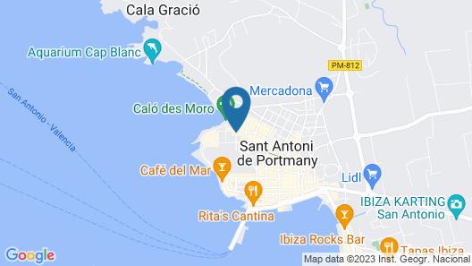 Hotel Gran Sol Ibiza Map