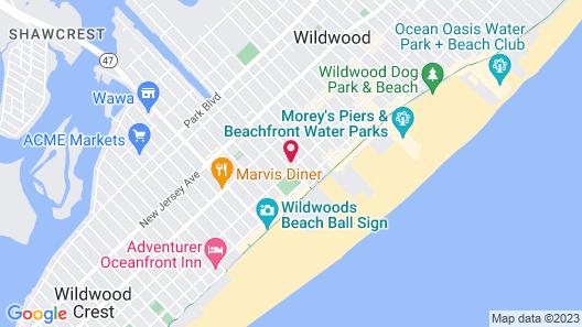 Marlane Motel Map