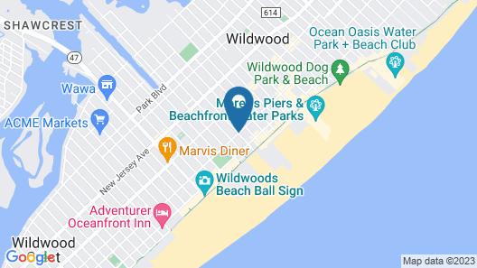 Seahorse Inn Map