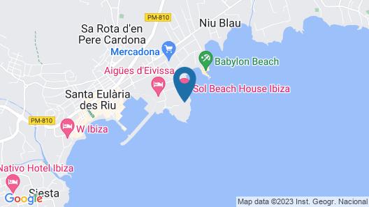 Sol Beach House Ibiza Map