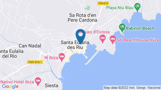 Duquesa Playa Map