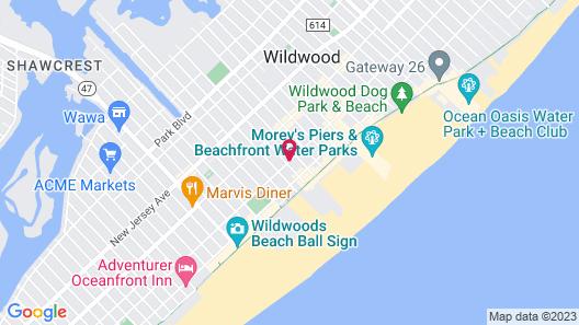 Daytona Inn And Suites Map