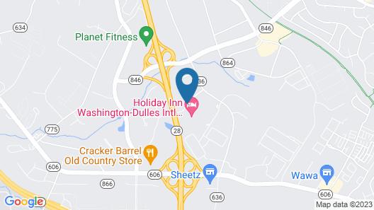 Best Western Dulles Airport Inn Map