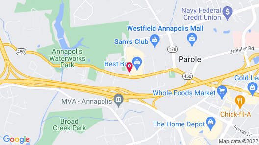 Country Inn & Suites by Radisson, Annapolis, MD Map