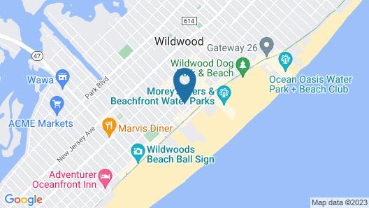Calypso Boutique Hotel Map