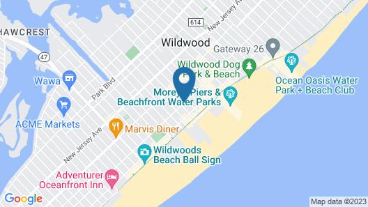 Skylark Resort Motel Map
