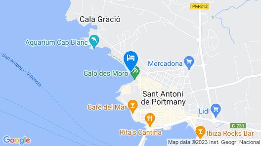 Apartamentos Wi-Ki-Woo Map