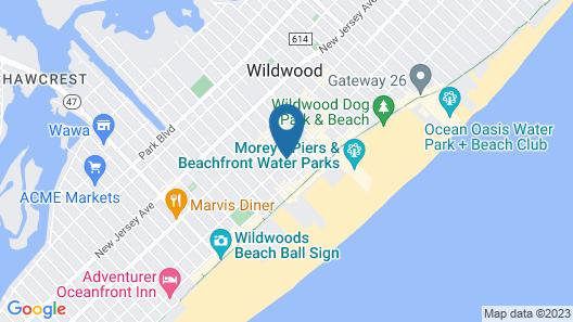 Quebec Motel Map