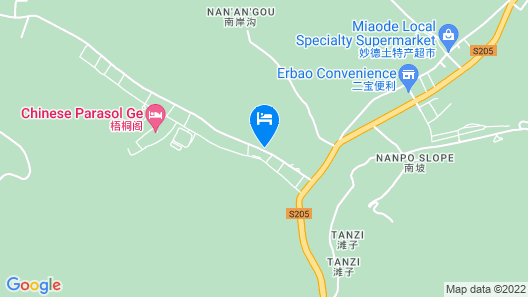 Foshan Hotel - Wutaishan Map