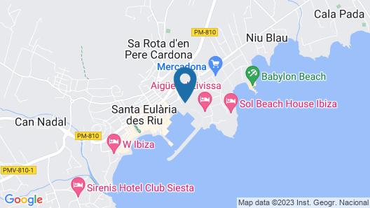 Hotel Tres Torres Map
