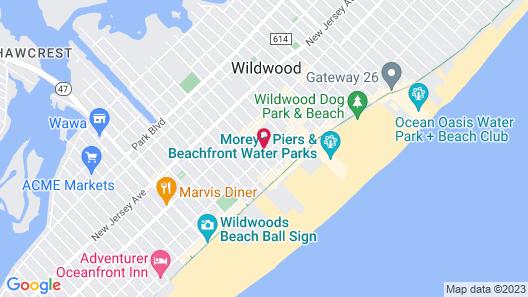 Bonito Motel Map