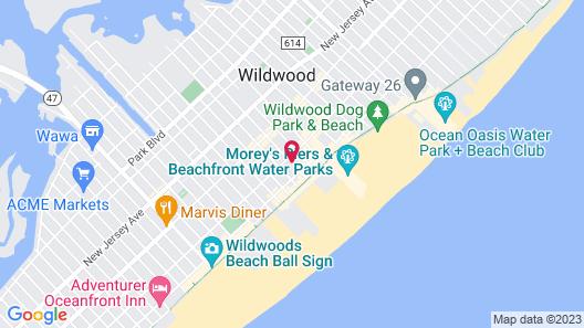 Key West Motel Map