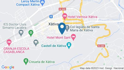 OYO Casa del Cigroner Map