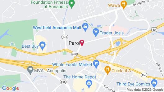 Crowne Plaza Annapolis, an IHG Hotel Map