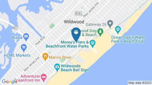 Brittany Motel Map