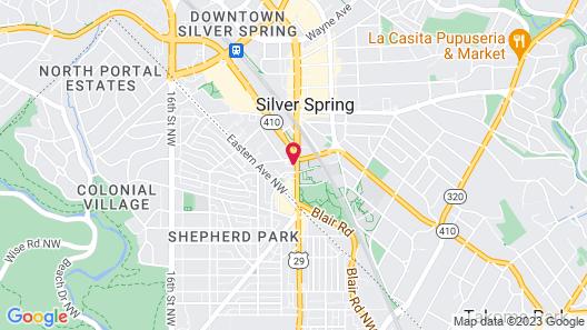 Holiday Inn Express Washington DC N-Silver Spring, an IHG Hotel Map