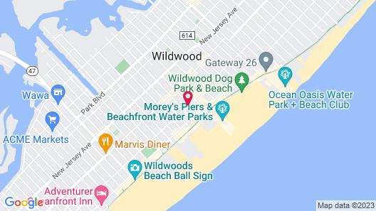 Beachside Resort Map