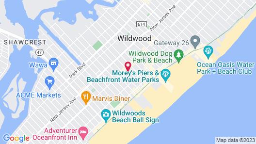 Twilight Motel Map