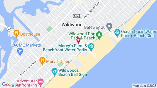 Blue Palms Resort Map