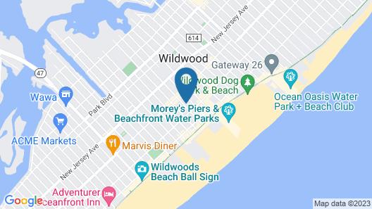 Garfield Beach House Map