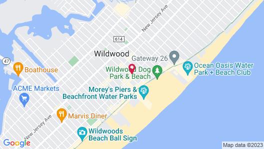 Bolero Resort Map