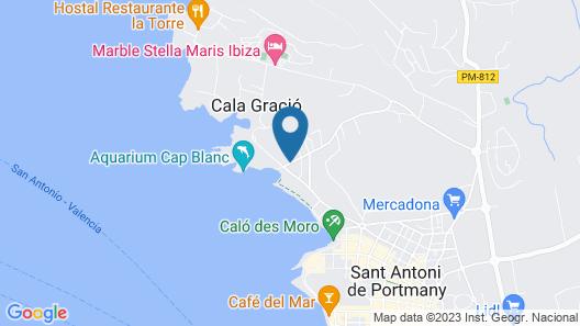 Fiesta Hotel Tanit - All Inclusive Map