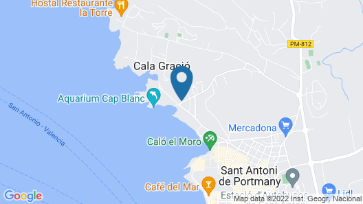 TRS Ibiza Hotel Map