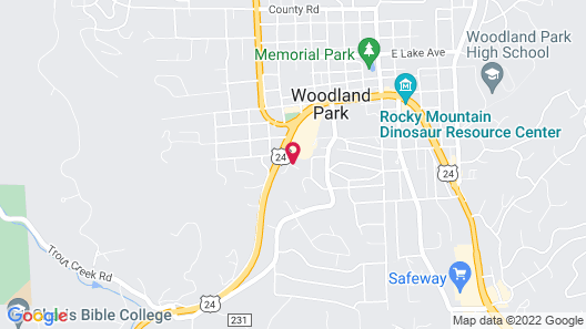 Microtel Inn & Suites by Wyndham Woodland Park Map