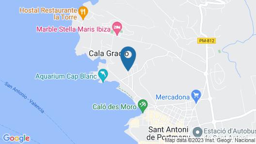 OKU Ibiza Map