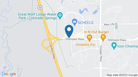 Drury Inn & Suites Colorado Springs near the Air Force Academy Map