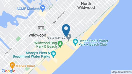 Island Breeze Motel Map