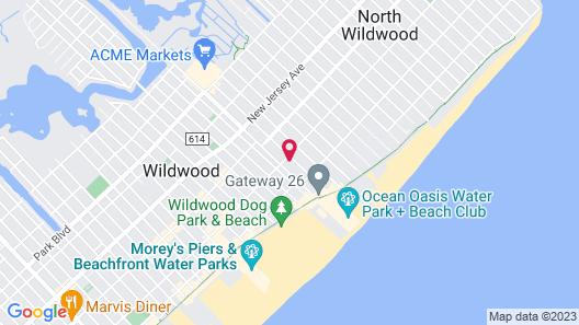 Sandy Shores Resort Motel Map