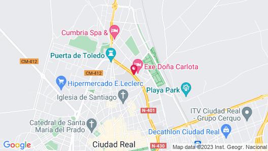 Exe Doña Carlota Map