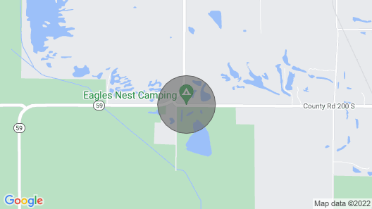 Eagles Nest Camping Bee Hunter Cabin Map