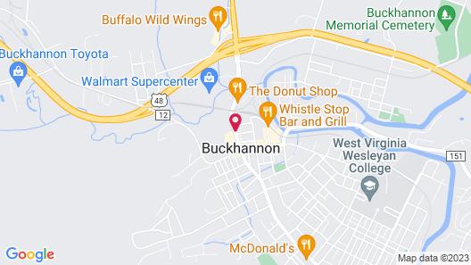 Centennial Motel Map