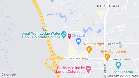Great Wolf Lodge Colorado Springs Map
