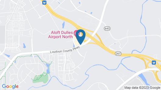 Hilton Garden Inn Dulles North Map