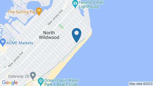 Alante Oceanfront Motor Map