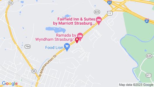 Ramada by Wyndham Strasburg Map