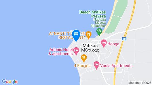 Faros Apartments Map
