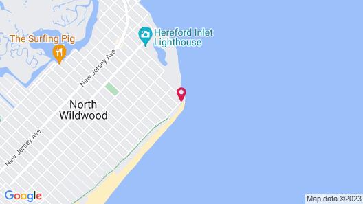 Aloha Oceanfront Motel Map