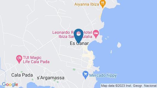Invisa Hotel Ereso - All Inclusive Map