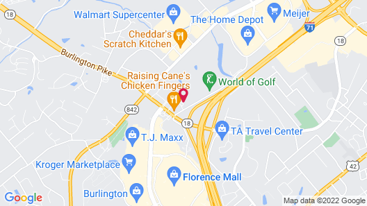 Home2 Suites Florence/Cincinnati Airport South, KY Map