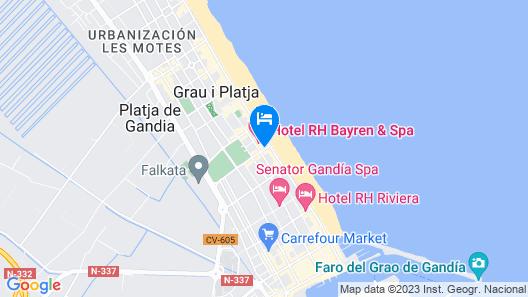RH Bayren Hotel & Spa Map