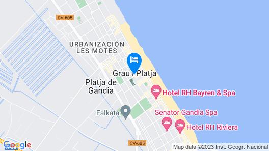Apartamento Ducal deluxe 1 linea Map