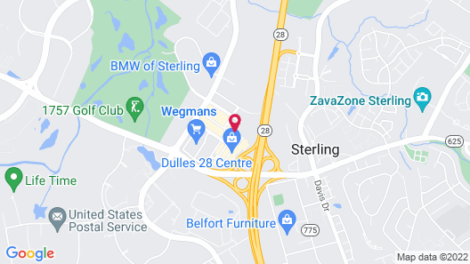 Residence Inn by Marriott Dulles Airport At Dulles 28 Centre Map