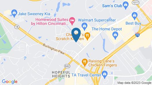 Comfort Suites Florence - Cincinnati South Map