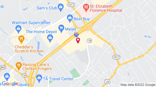Courtyard by Marriott Cincinnati Airport South/Florence Map