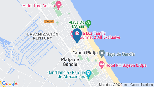 Hotel Don Pablo Map