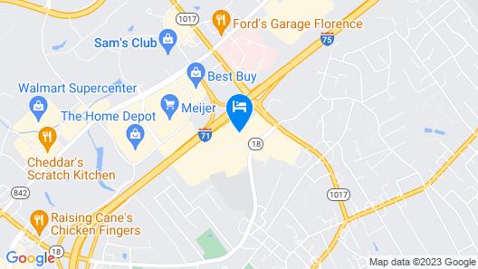 Quality Inn & Suites Florence - Cincinnati South Map